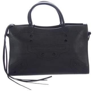 Balenciaga 2017 Blackout City S Bag