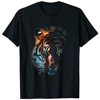 Tiger T Shirt Tee Animal Print Wild Nature Graphic Design