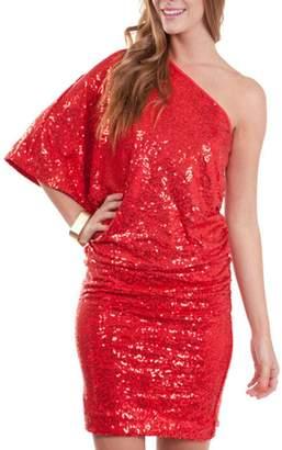 Umgee USA Red Sequin Dress