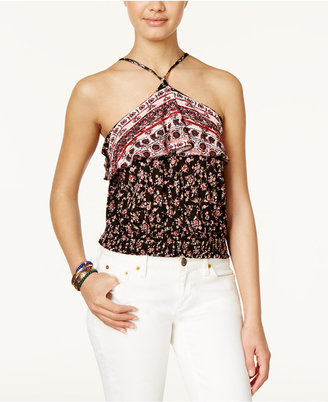 American Rag Halter Crop Top, Only at Macy's $39.50 thestylecure.com