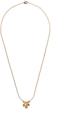 David Yurman 18kt yellow gold Novella pendant necklace