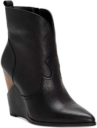 Jessica Simpson Hilrie Western Booties Women's Shoes