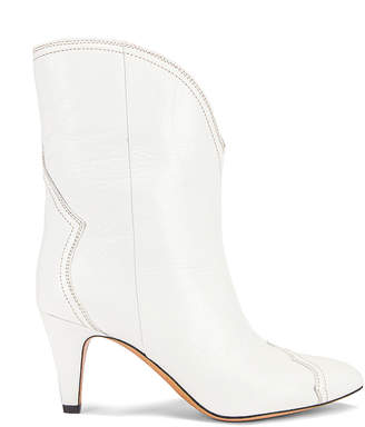 Isabel Marant Dythey Boot in White | FWRD