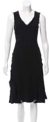 Charles Youssef Sleeveless V-Neck Dress w/ Tags