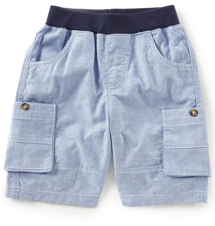 Kapital K Little Boys 2T-7 Oxford Chambray Shorts