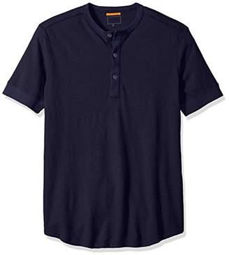Jack Spade Men's Short Sleeve Linen Henley