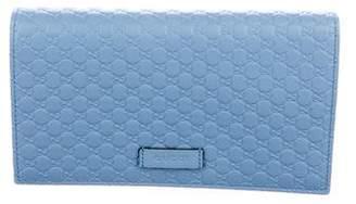Gucci Micro Guccissima Wallet On Strap