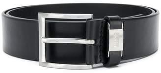 HUGO BOSS logo buckled belt