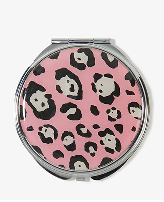 Forever 21 Leopard Mirror Compact