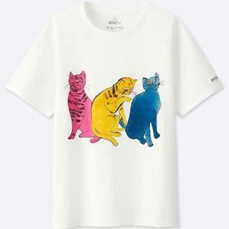 Uniqlo Women's Sprz Ny Graphic T-Shirt (andy Warhol)