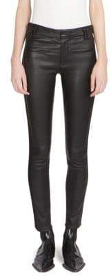 Haider Ackermann Skinny Leather Trousers