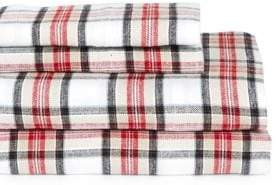 Distinctly Home Four-Piece Double Flannel Sheet Sets