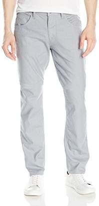 Hudson Men's Blake Slim Straight Leg Lightweight Stretch Pant