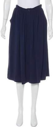 Miu Miu Pleated Knee-Length Skirt