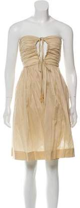 Philosophy di Alberta Ferretti Sleeveless Knee-Length Dress