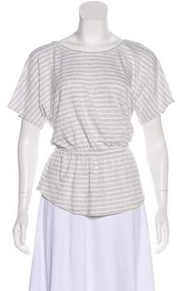 Trina Turk Striped Knit Top