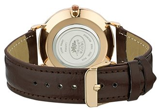 Laura Ashley Women's ' Quartz Metal and Polyurethane Casual Watch, Color:Brown (Model: LA31020BN) $45.13 thestylecure.com
