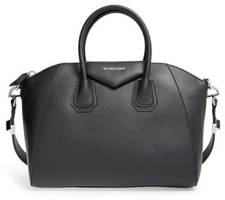 Givenchy 'Medium Antigona' Leather Satchel - Black $2,435 thestylecure.com