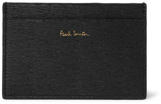 Paul Smith Textured-Leather Cardholder - Men - Black