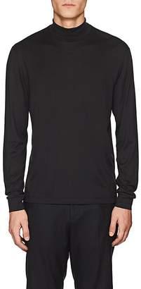 Theory Men's Cotton-Cashmere Turtleneck T-Shirt