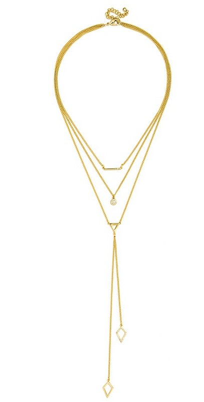 """BAUBLEBAR Facets Layered Necklace, 14"""" 4"""