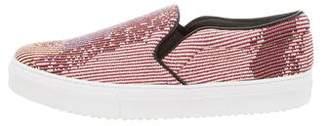 Celine Woven Slip-On Sneakers w/ Tags