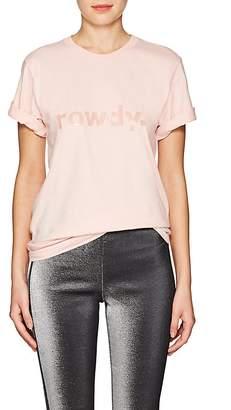 """Area Women's """"Rowdy"""" Cotton T-Shirt"""