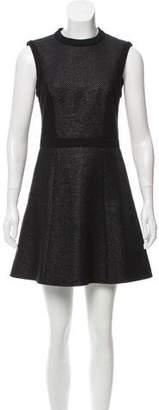 Tibi Textured A-Line Dress