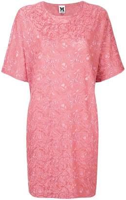 M Missoni embroidered T-shirt dress