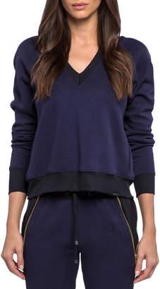Koral Activewear Solitude Gravity V-Neck Pullover Sweatshirt