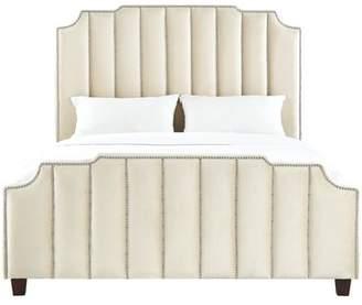 Willa Arlo Interiors Elof Velvet Upholstered Panel Bed
