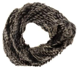 Yves Salomon Rabbit Infinity Scarf