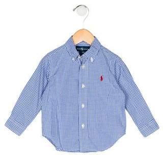 Ralph Lauren Boys' Gingham Shirt