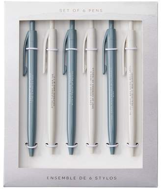Indigo Paper PEN PACK NATURE'S SERENITY WEEKLY SET OF 6