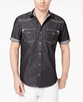 INC International Concepts I.N.C. Men's Rodeo Denim Shirt, Created for Macy's