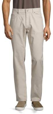 Saks Fifth Avenue COLLECTION Five-Pocket Cotton Chinos