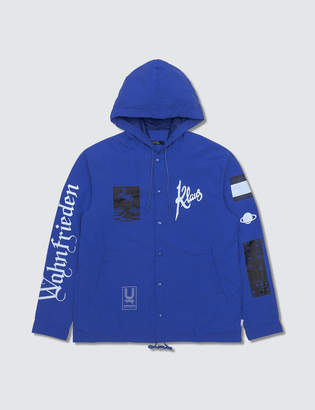 Undercover Collage Print Blue Coach/jacket