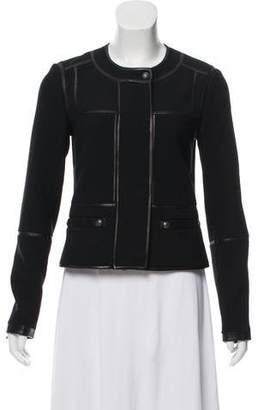 Diane von Furstenberg Casual Zip-Up Jacket