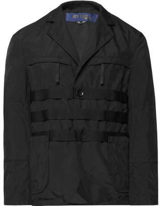 Junya Watanabe Black Garment-Dyed Canvas Blazer