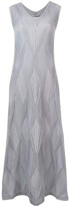 Issey Miyake textured pleat dress
