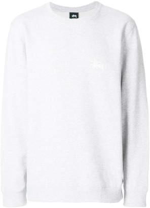 Stussy logo print sweatshirt