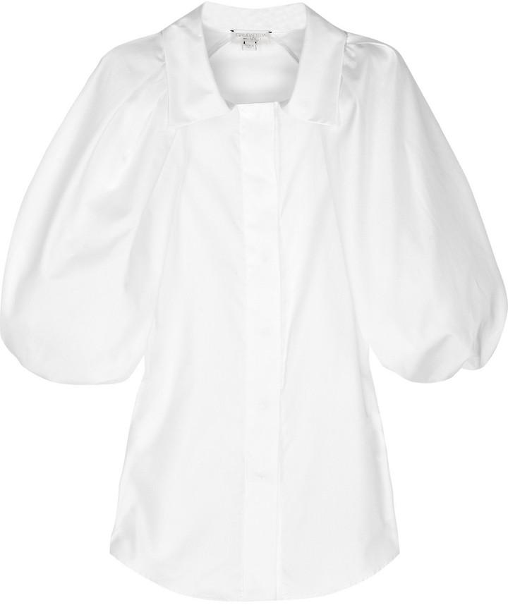 Giambattista Valli Cotton puff-sleeve shirt