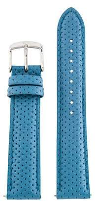 Michele 18mm Leather Strap