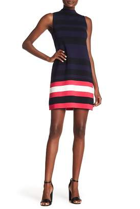 Eliza J High Neck Sheath Dress