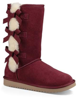 6828031a6c Koolaburra BY UGG Victoria Tall Genuine Dyed Shearling Trim   Faux Fur Boot