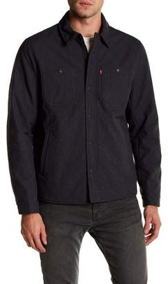 Levi's Soft Shell Wind Shirt Jacket