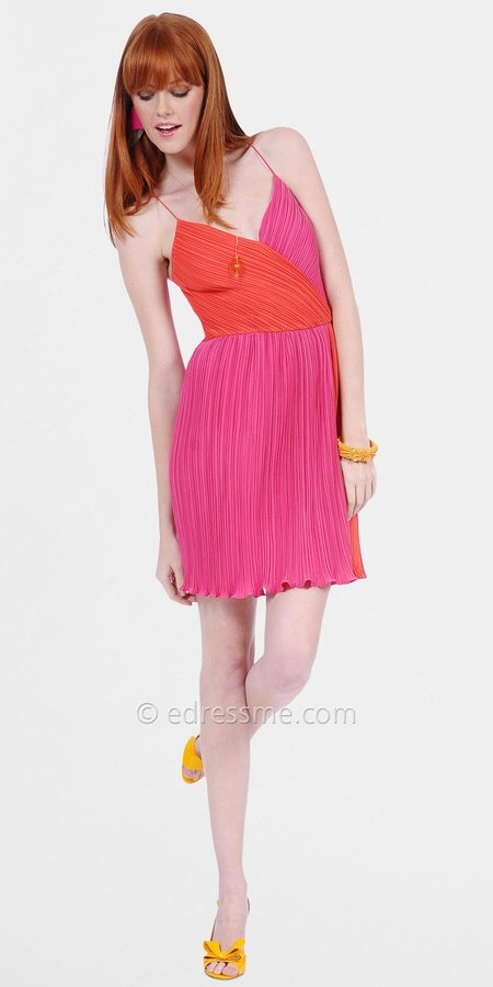 Flirty Pink Cocktail Dresses by Phoebe Couture