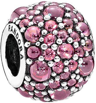Pandora Shimmering Droplet Silver Cz Charm