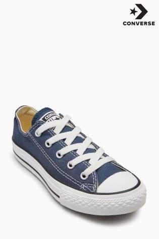 Boys Converse Chuck Taylor All Star Ox - Blue
