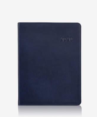 GiGi New York 2020 Desk Diary, Black Traditional Leather